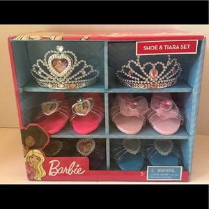 Barbie Shoes & Tiara Set